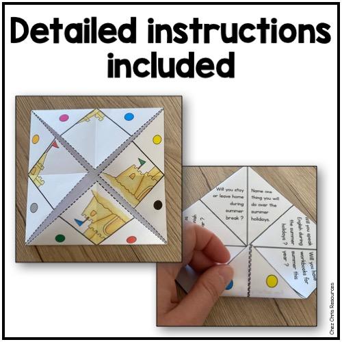 instruction pour réaliser des cocottes en papier