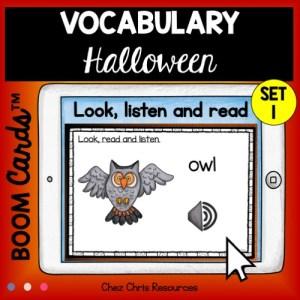 30 mots de vocabulaire d'Halloween en anglais: regarder, écouter et lire