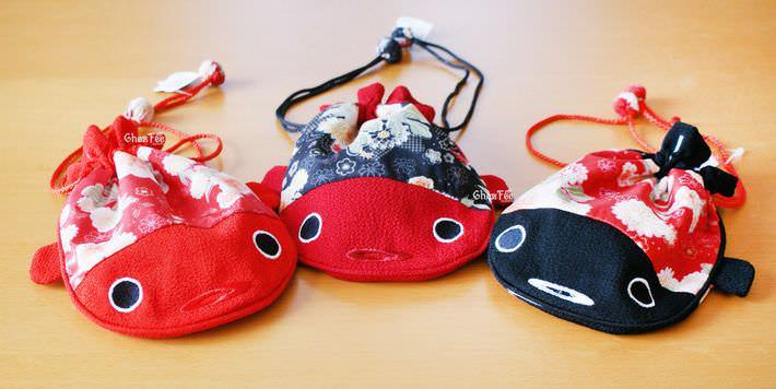 pochette-japonaise-tissu-poisson-carpe-chez-fee-com-magasin-kawaii-nord