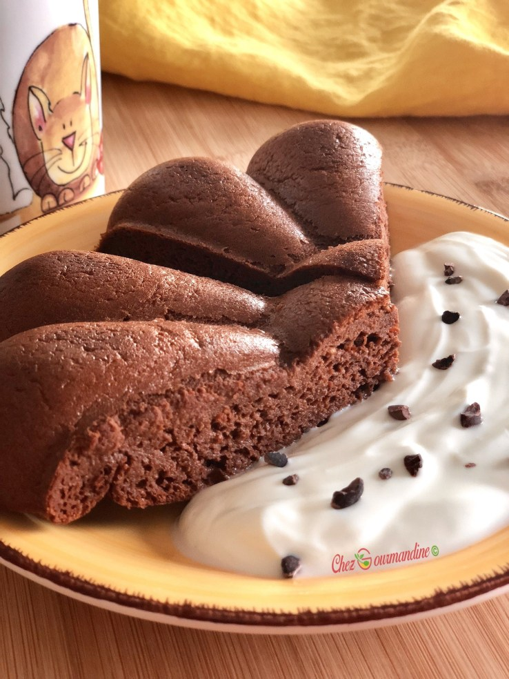 Gâteau poire chocolat sans beurre