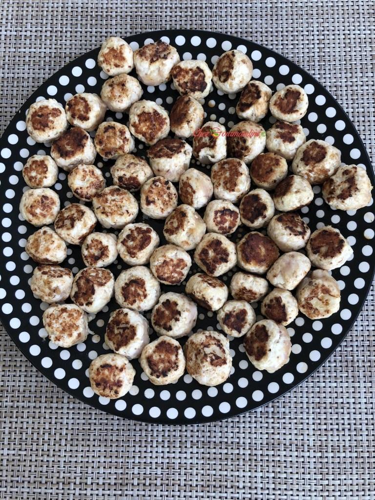 boulettes de dinde