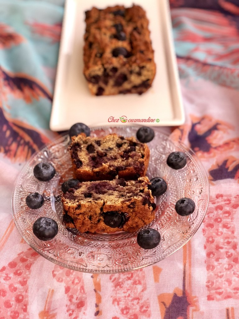 cake coco myrtilles