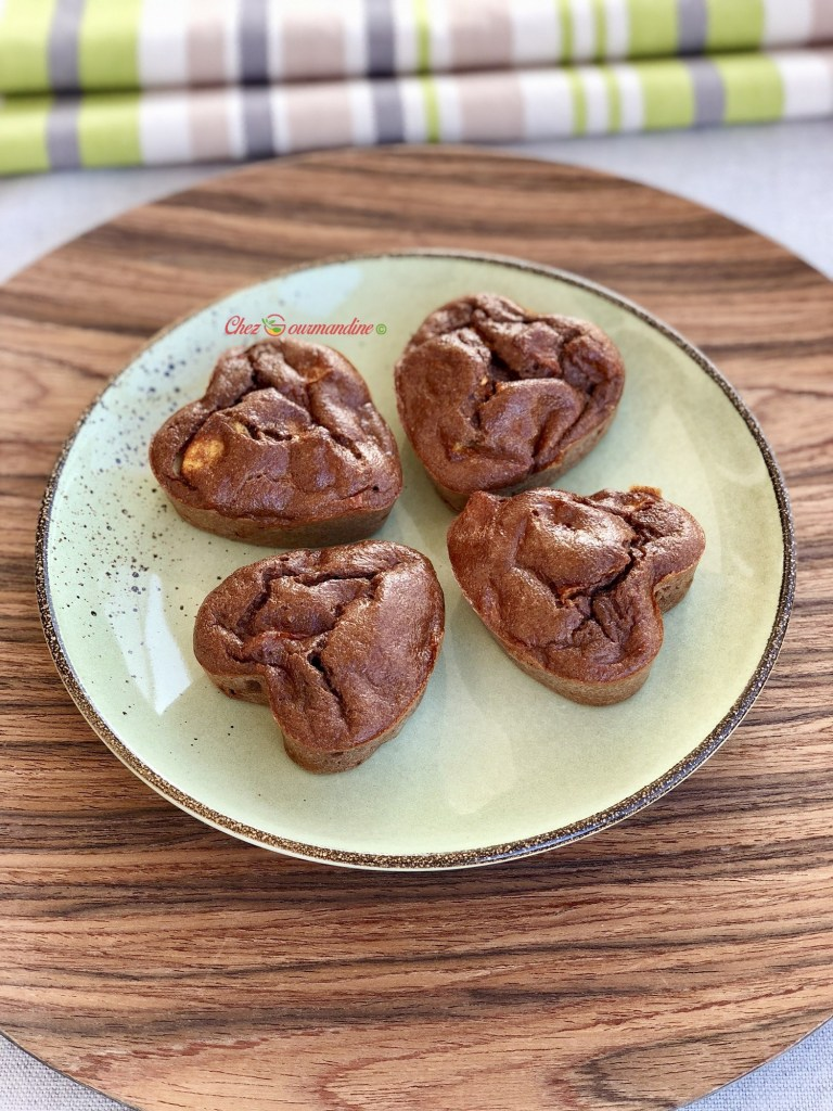 Gâteaux de semoule au chocolat