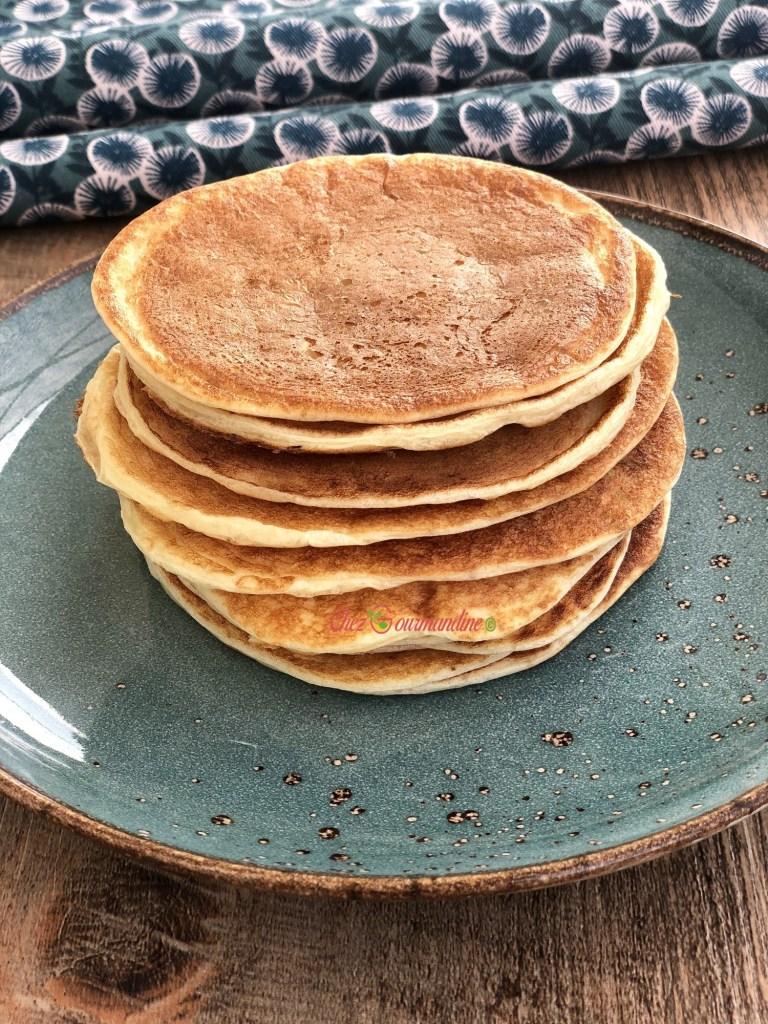 Pancakes légers sans gluten