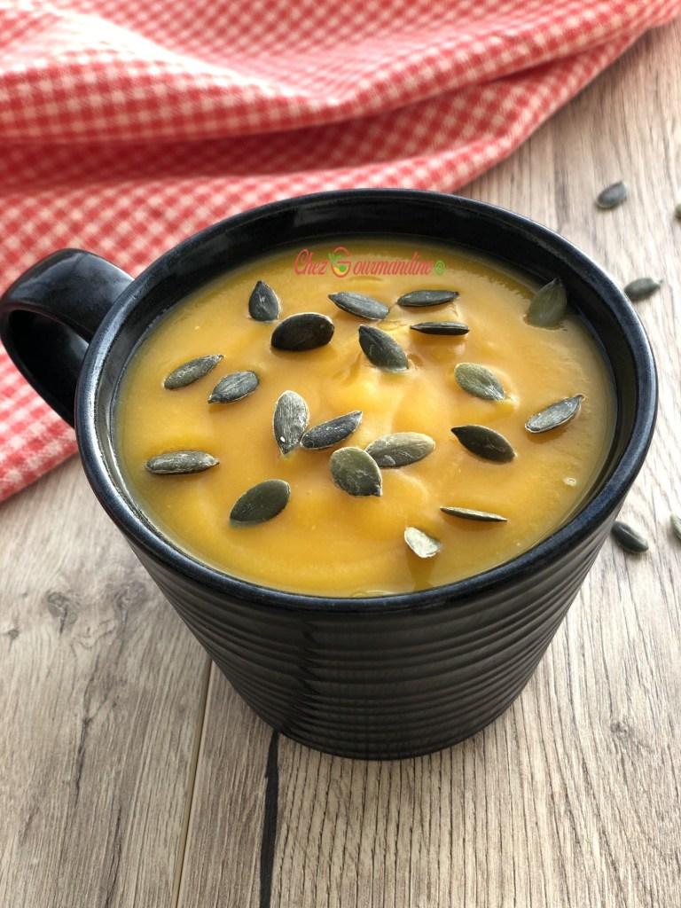 Soupe Lentilles Corail Thermomix : soupe, lentilles, corail, thermomix, Velouté, Potimarron, Lentilles, Corail, Chezgourmandine