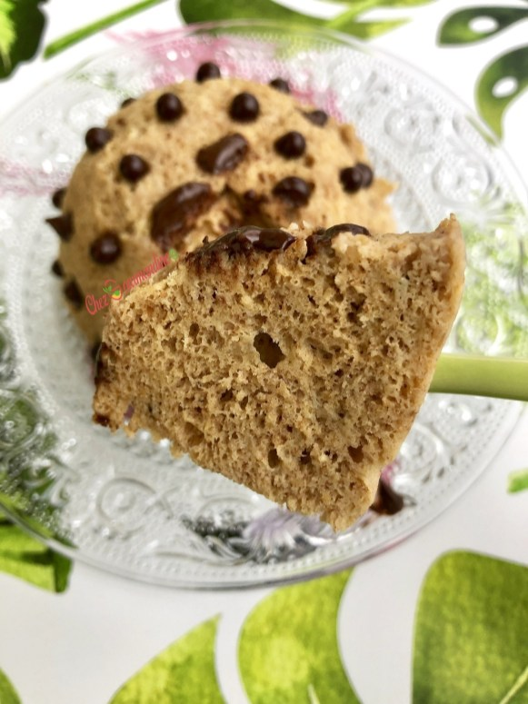 Bowlcake cacahuète pépites de chocolat