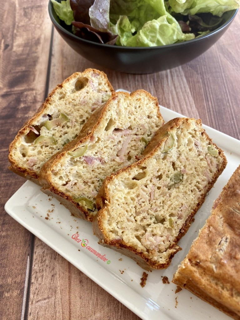 Cake olive jambon gruyère