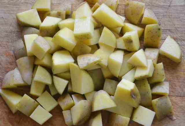 Quick Parmentier Potatoes