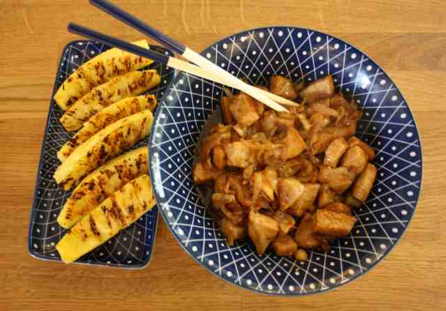 Frugal French Pantry September 2017. This month the focus is on takeaways: Prawn & Squid Noodles, Baked Tandoori, Vietnamese Pork & Cardamom Chicken.