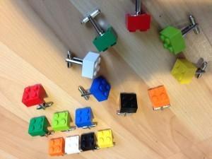 Lego jusqu'au bout des manches