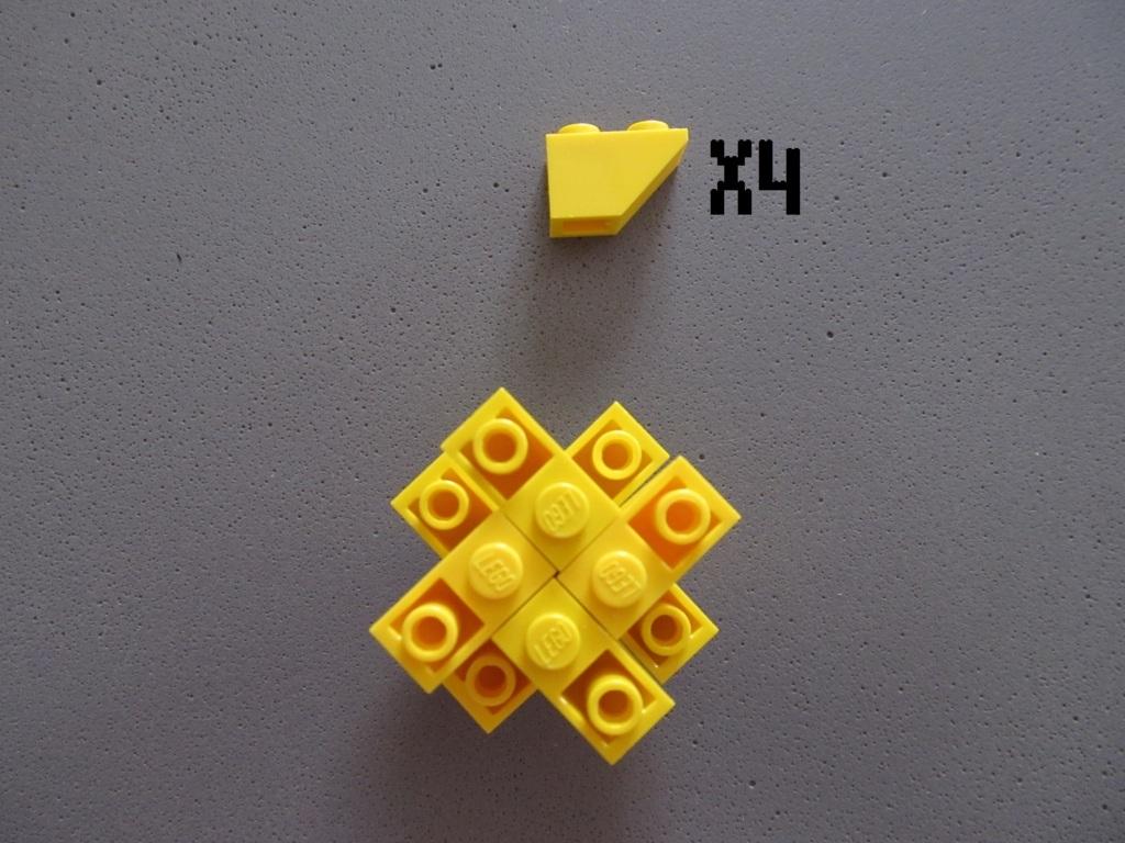 tuto fleur lego 3