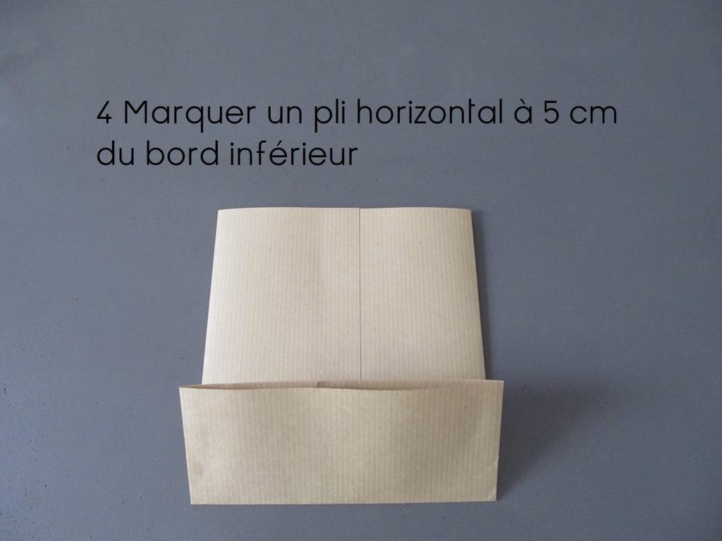 sac en papier pliage