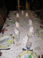 maisonnette illuminée table de noel (9)
