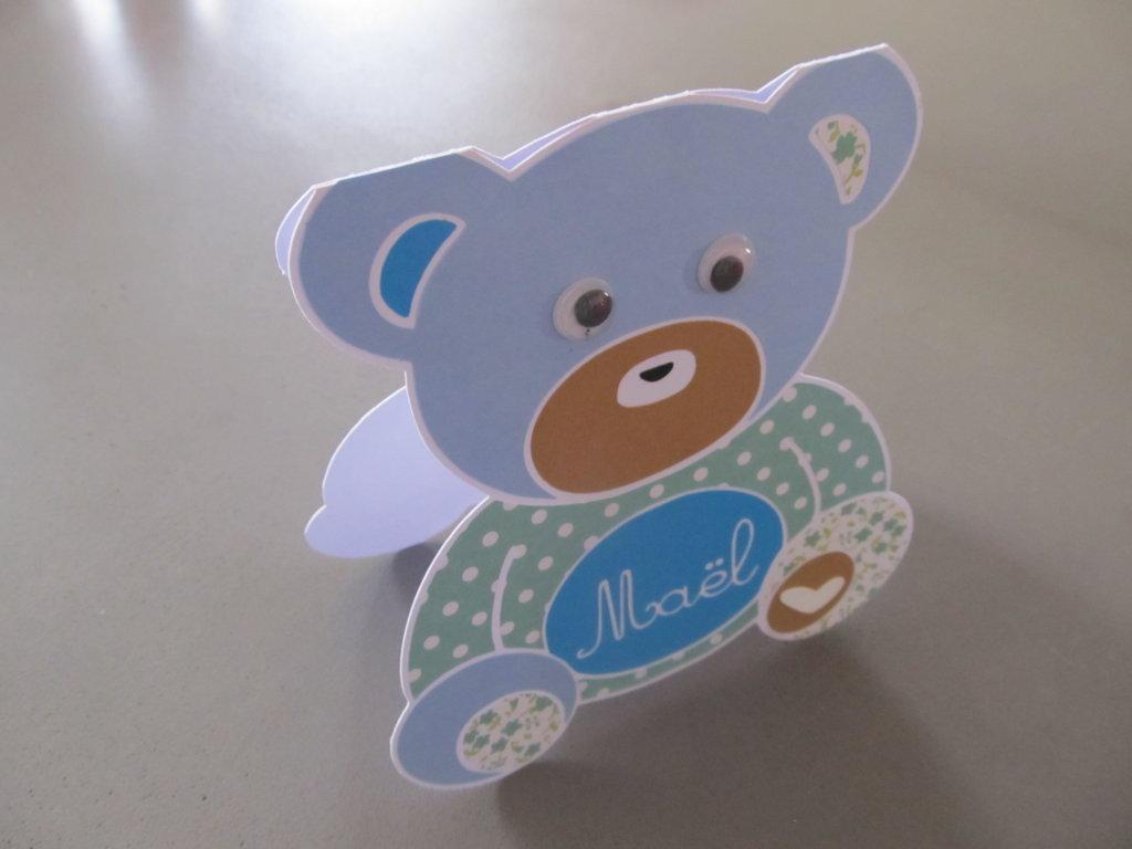 carte naissance garçon ourson (5)