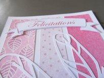 carte felicitations naissance plume rose (3)
