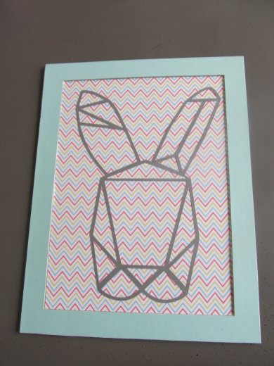 cadre lapin origami (2)