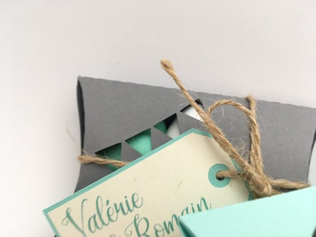 boîte de dragées pillow box
