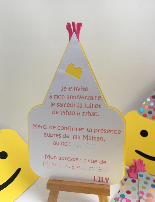 invitation anniversaire tete de Lego (2)