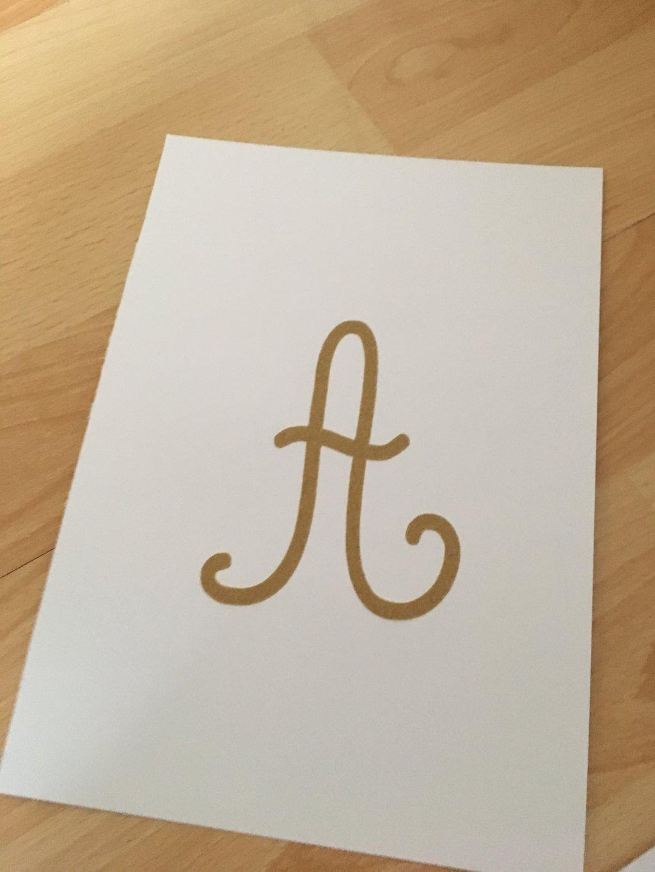 lettres rugueuses majuscules cursives (6)