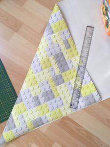boite en papier peint carrée