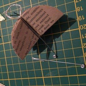 tuto pour faire un parapluie en papier