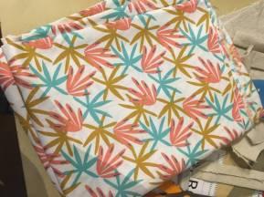 tissu feuille pour lingette