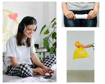 les dechets liés aux serviettes hygiéniques
