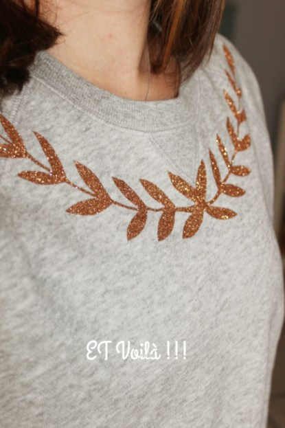 Diy : Un sweat oui mais chic !