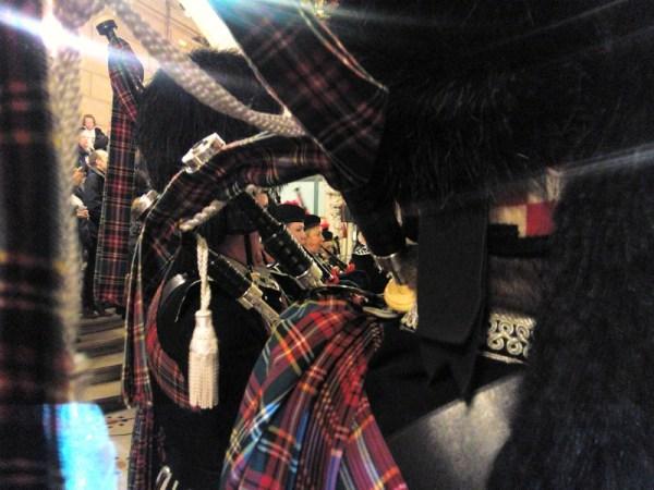 Écosse à Montmartre pipe