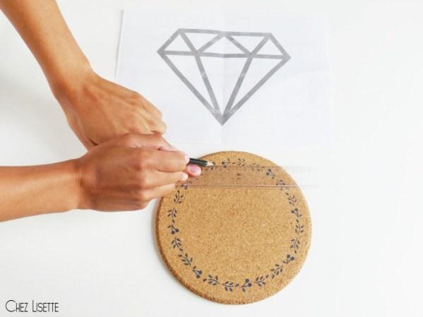 chez lisette diy horloge diamant tracer2
