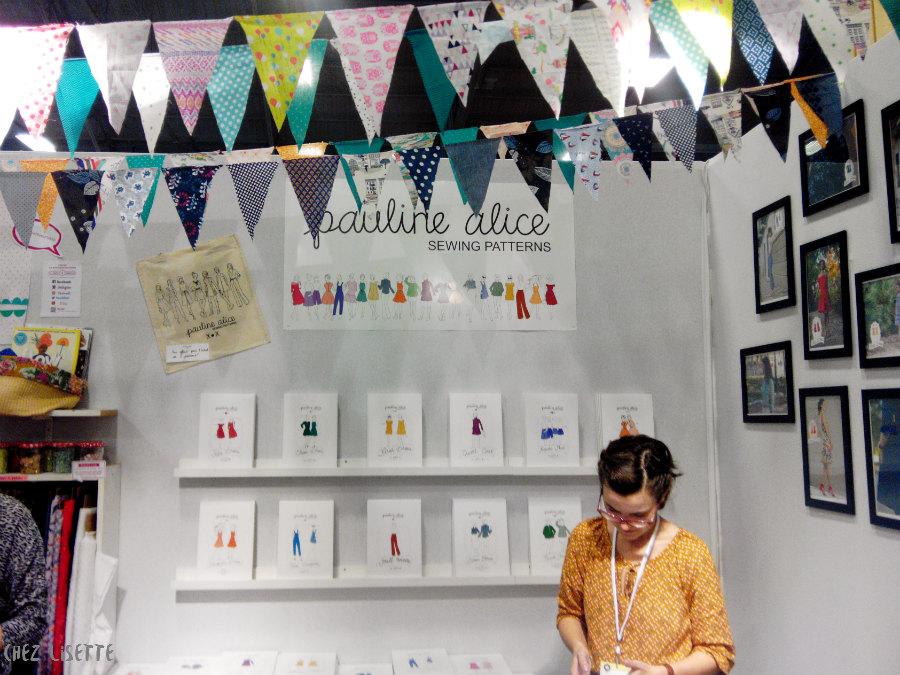 Chez Lisette salon créations et savoir-faire 2015 pauline alice