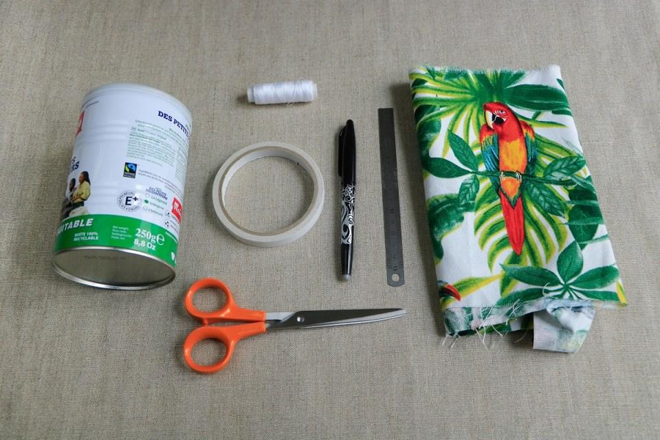 Chez Lisette DIY recyclage boîte de conserve 1