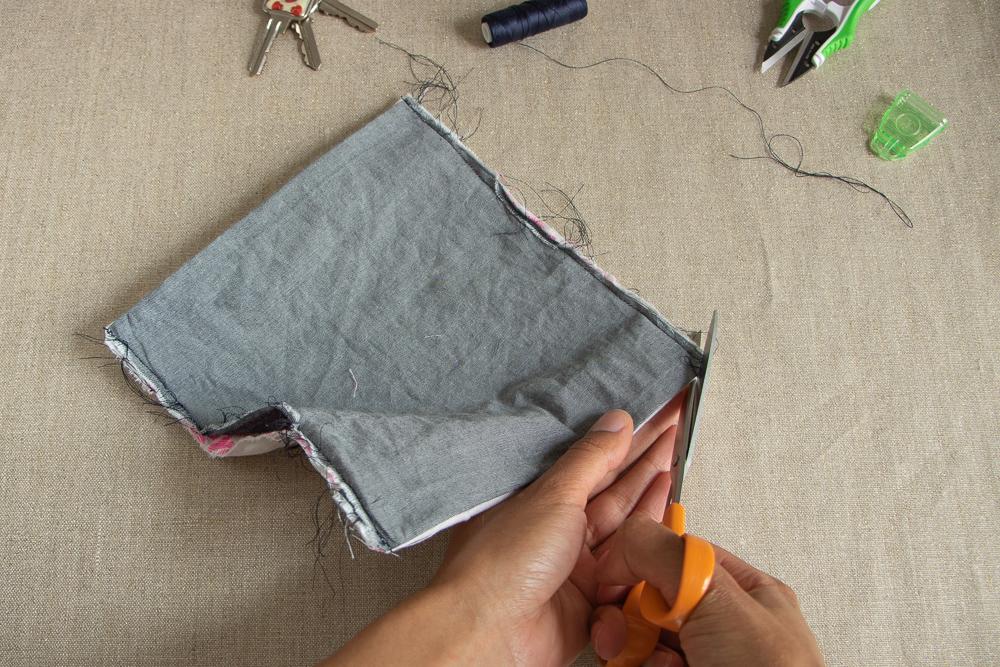 Chez Lisette DIY porte-chéquier 8