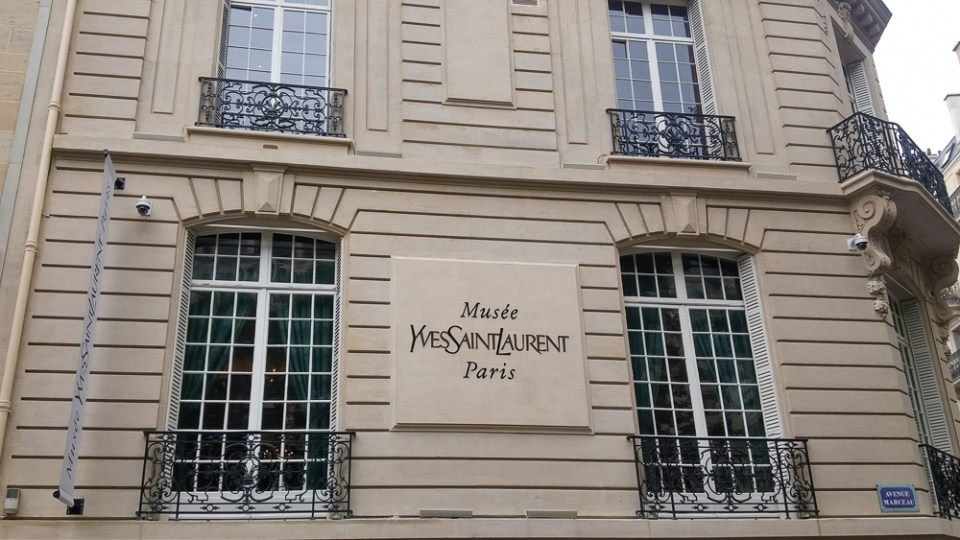 Visite Musée Yves Saint Laurent Chez Lisette