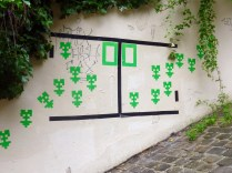 Paris - 2013, may - Green invaders in Montmartre