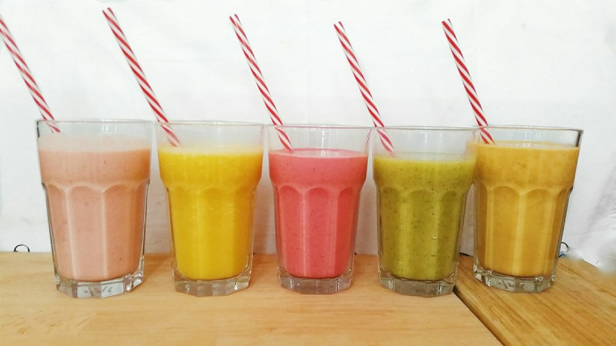5 idees de smoothies