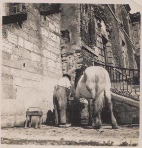 Juin 1940-Ferdinand Berthier devant sa forge