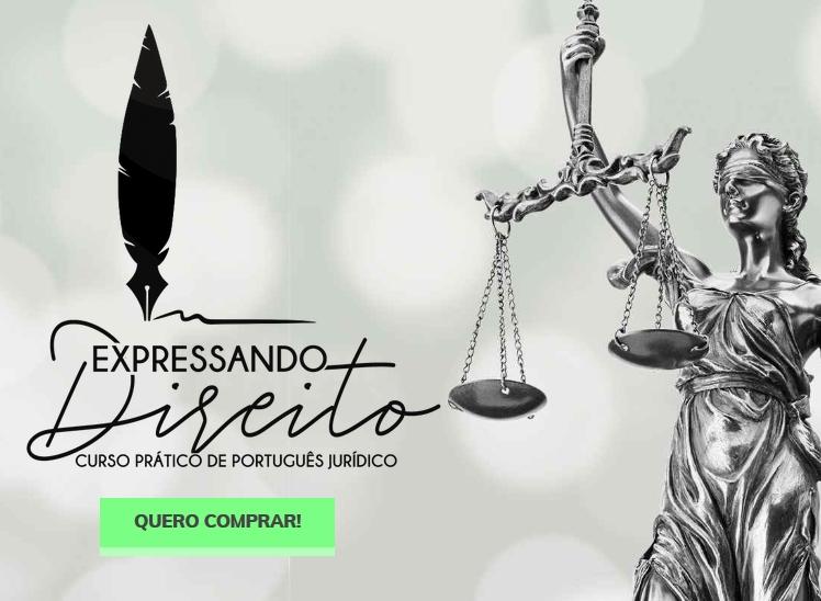 Expressando Direito Curso Prático de Português Jurídico