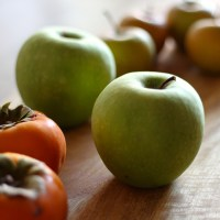 Apple, Persimmon and Ginger Crumble