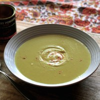 Curried Kumara Soup (honouring Alison Holst)