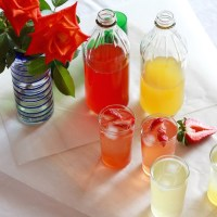 Summer sippers | Strawberry & Pineapple Shrubs
