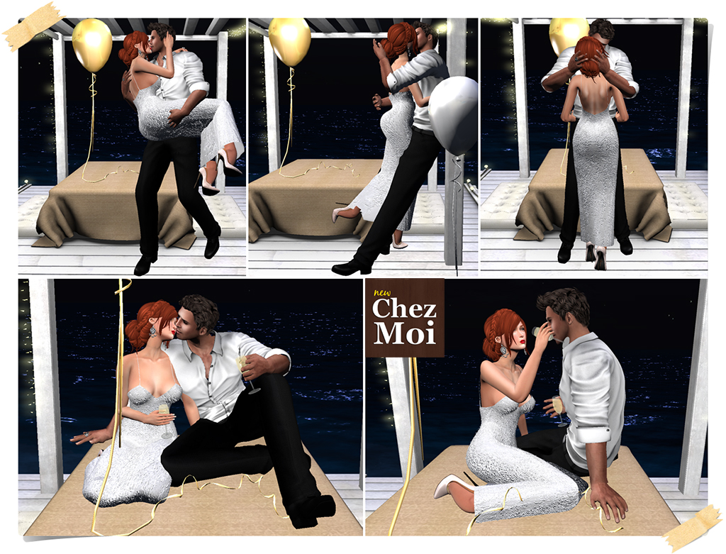 Let's Celebrate Couple Poses 1 CHEZ MOI