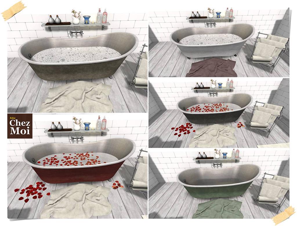 Supreme Bathtub Colors CHEZ MOI