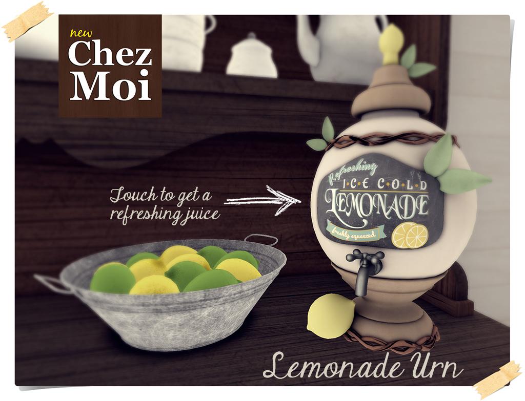 Leeloo Lemonade Urn CHEZ MOI