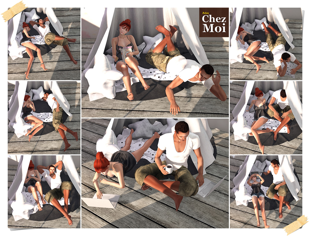 Mystical Tent Single Poses CHEZ MOI