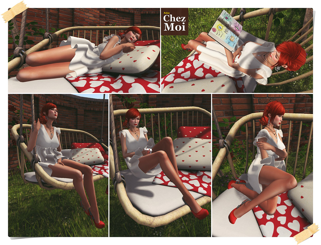 Rustic Swing Douceur Single Poses CHEZ MOI