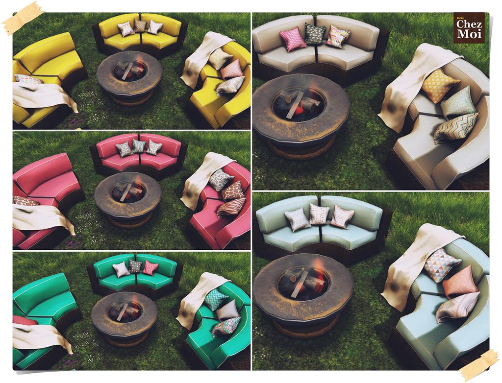 Passadena Patio Colors CHEZ MOI