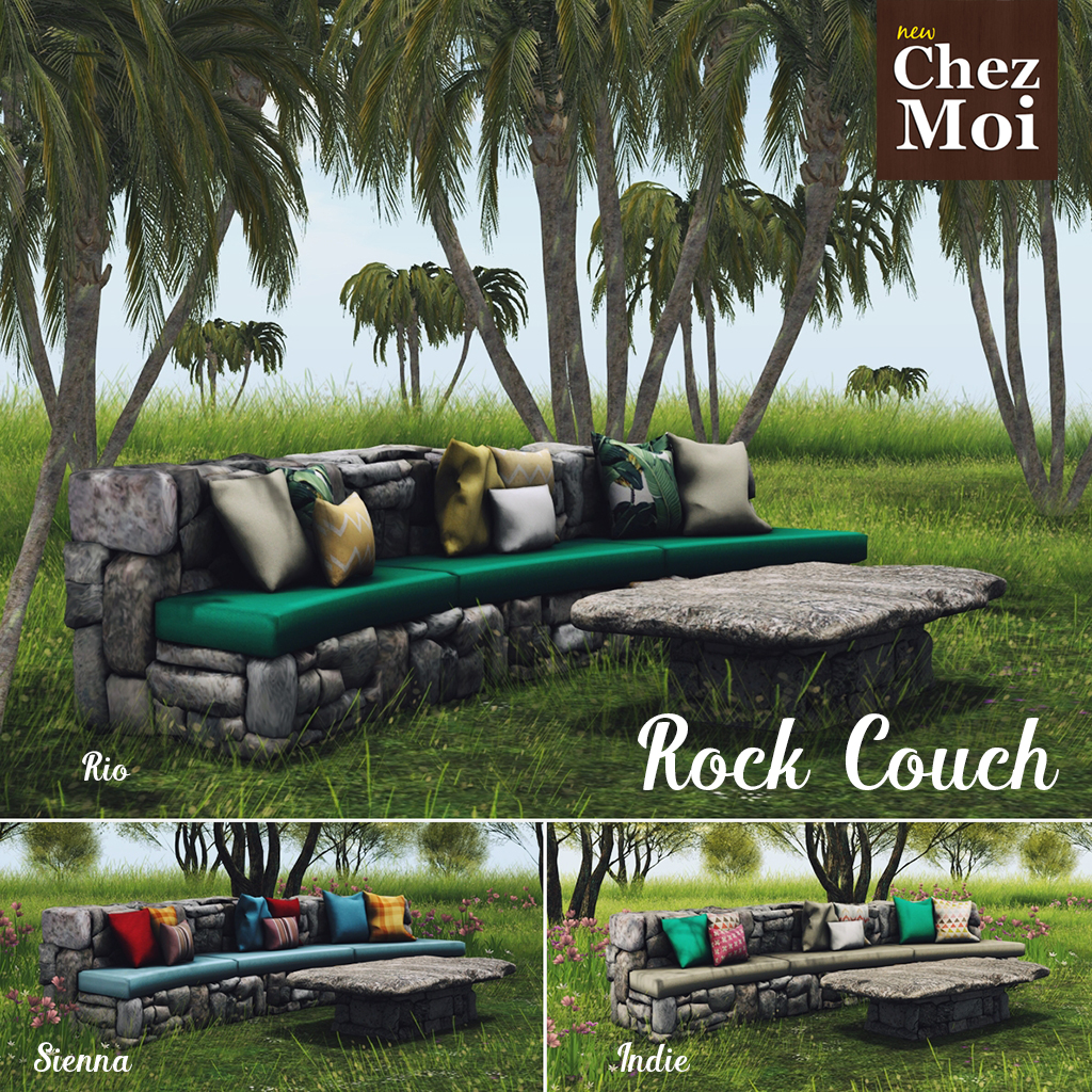 Rock Couch Squared CHEZ MOI
