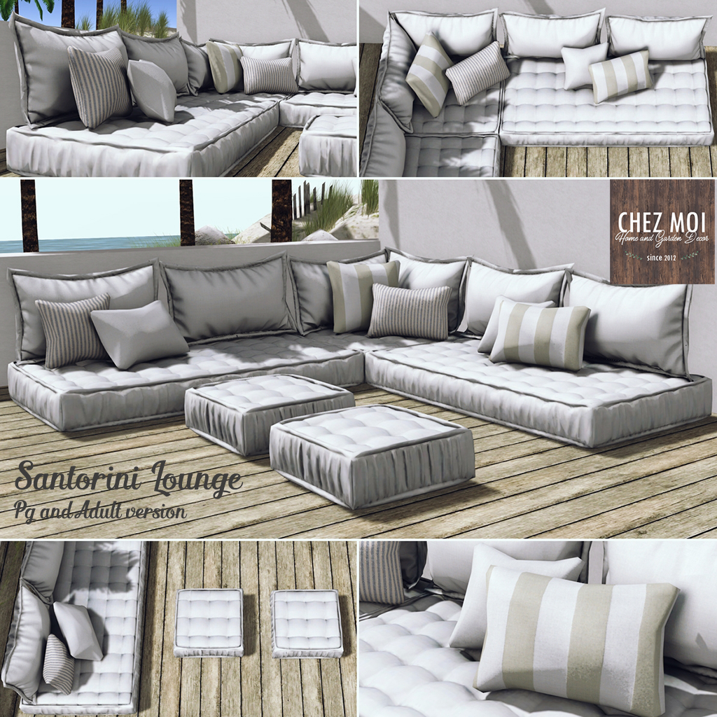 Santorini Lounge Squared CHEZ MOI