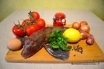 Grondin perlon et ses légumes